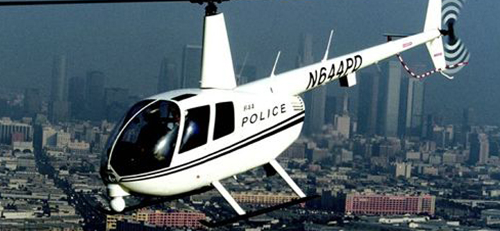 Robinson Police helicopter